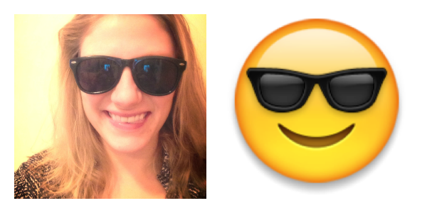 Human Emoji - Sunglasses, yeah!