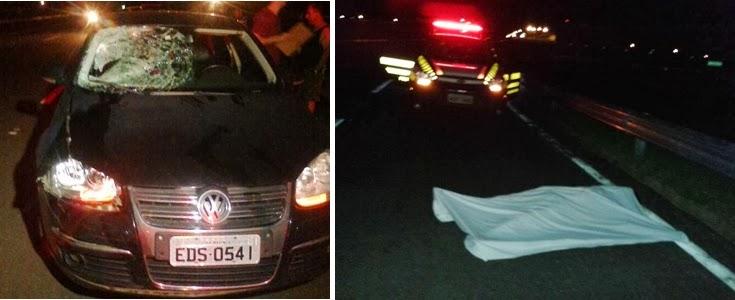 Mais uma Pessoa Morreu vítima de atropelamento no Contorno Norte Maringá