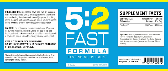 Health Benefits of the 5:2 Fast Formula Diet