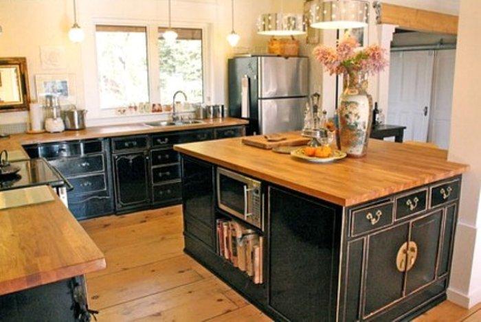Moois en liefs keukens uit hergebruikte materialen for Kitchen cabinets made from recycled materials