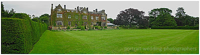 Gisborough Hall Panorama by portrait wedding photographers
