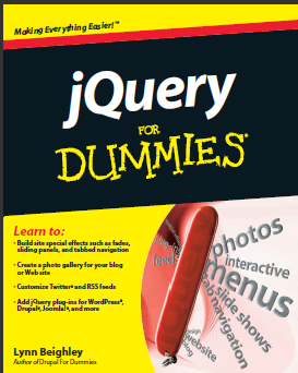 jQuery for Dummies Free Download PDF Book