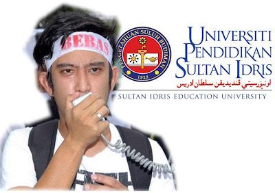 Adam Adli digantung UPSI