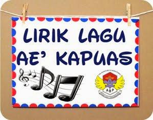 Lirik Lagu Ae' Kapuas