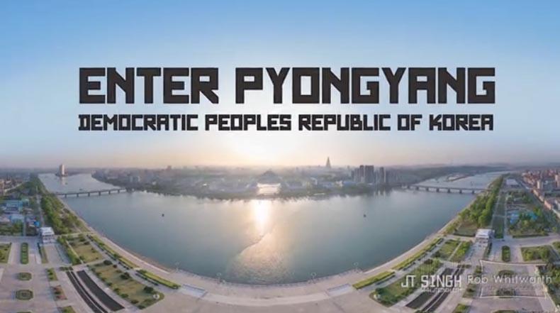 Un viaje por timelapse de Corea del Norte como nunca la has visto