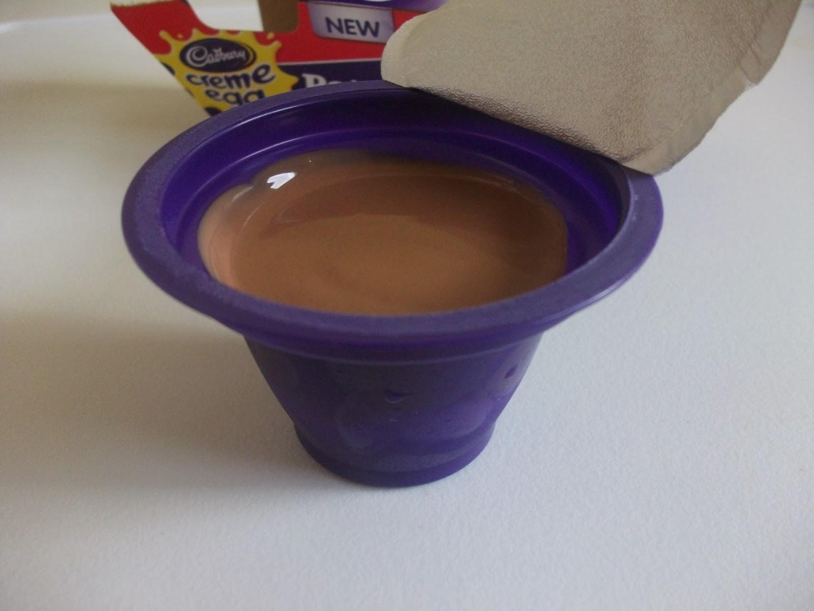 cadbury creme egg pots of joy