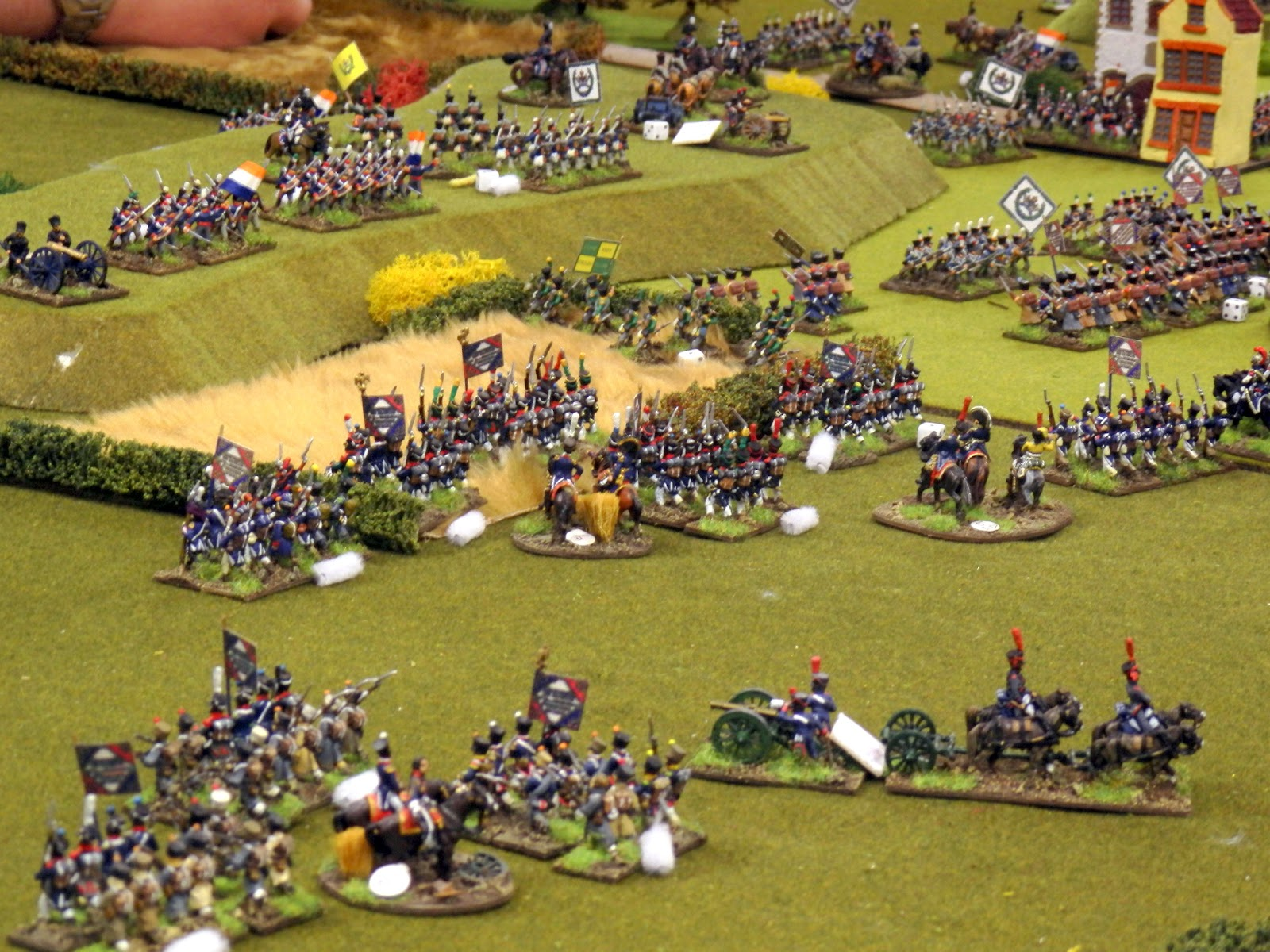 Napoleonic Wargaming Rules a Napoleonic Wargame Using