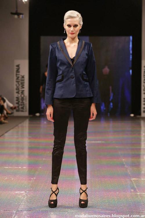 Adriana Costantini otoño invierno 2014 sacos y sastreria moda invierno 2014.