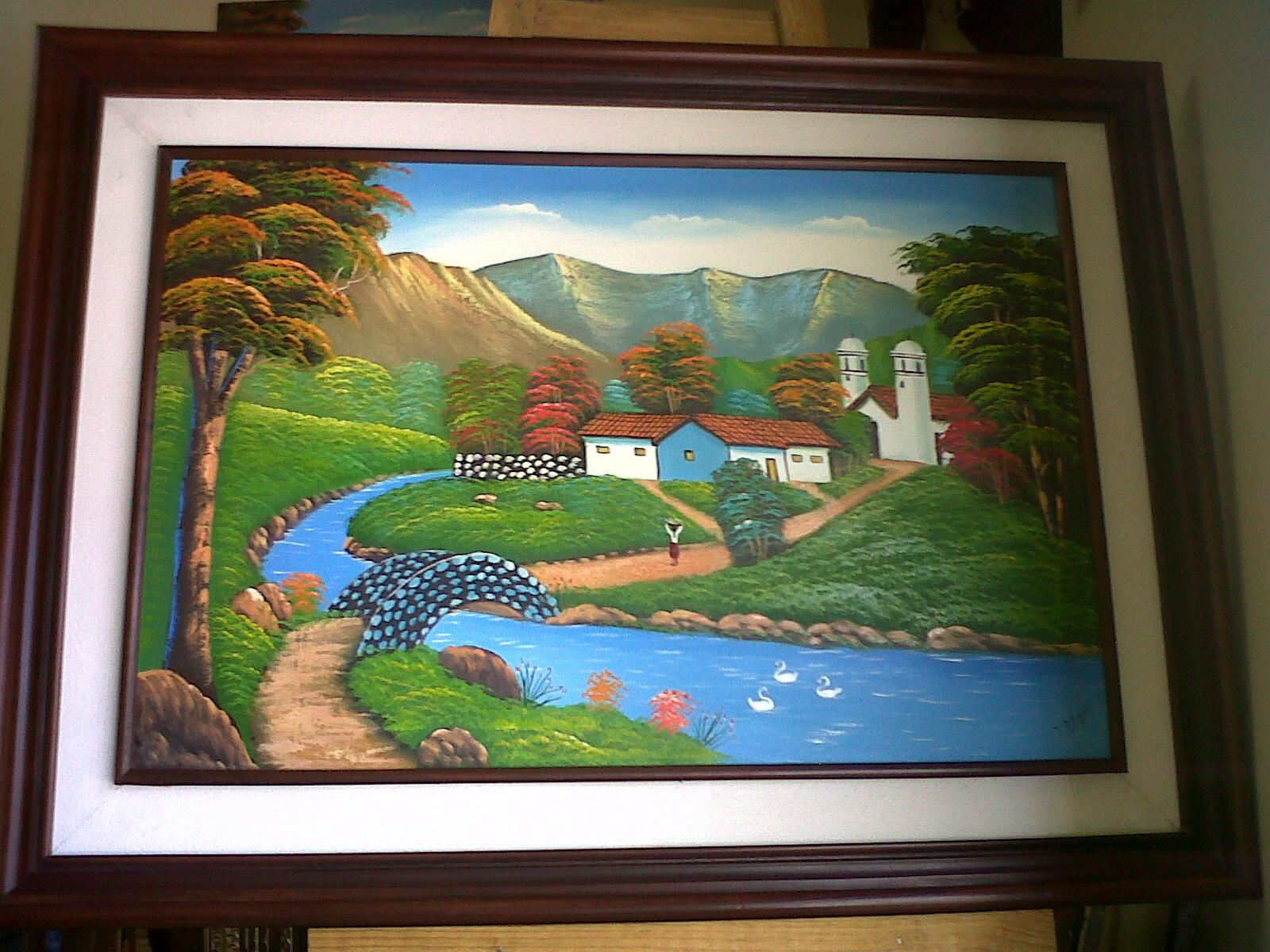 Decoraciones y Molduras Amador: pintura para sala marco de madera