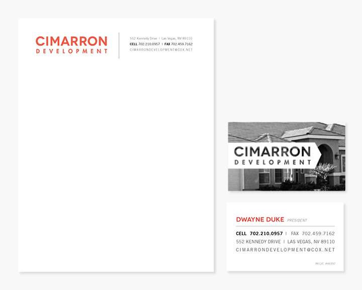 Kimberly Church || Cimmarron Development Branding