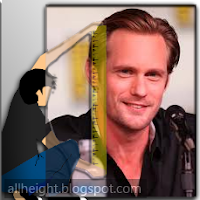 What is the height of Alexander Skarsgard?