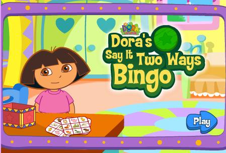 Juego Bingo Dora