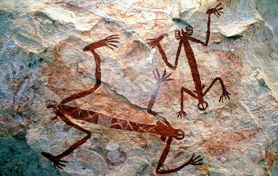 Arte rupestre aborigen, Australia