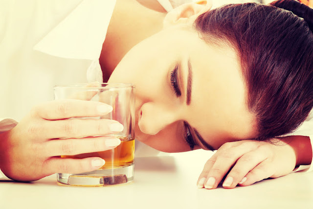 depresja a alkohol