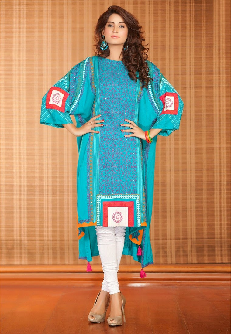 Pakistani Summer Dress Designs By Famous Designers In 2015