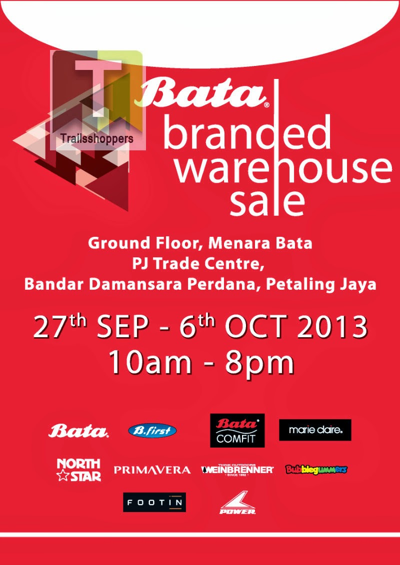 Bata Branded Warehouse Sale 2013