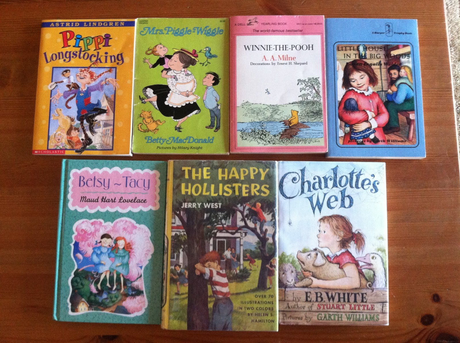 Some of my read-aloud recommendations for 5 year olds.