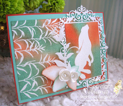 lavinia hare card front