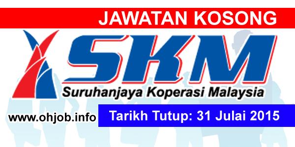 Jawatan Kerja Kosong Suruhanjaya Koperasi Malaysia (SKM) logo www.ohjob.info julai 2015