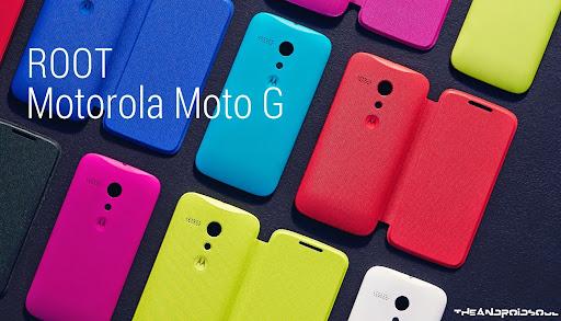 Motorola Moto G Root Yapma