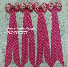 Frame Ribbon polkadot, RM25 sepasang