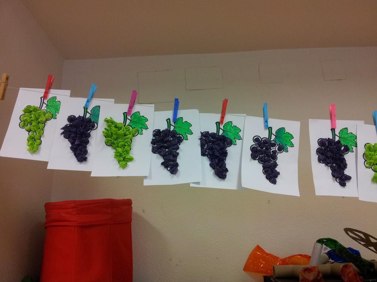 Tercero Infantil - Lorenzo Goicoa: Actividad 1 - Racimo de uva