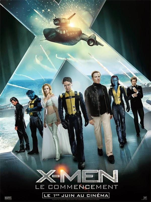 The X-Men Film Series (Topic Unique) X-Men-Le-Commencement-Affiche-FR-01