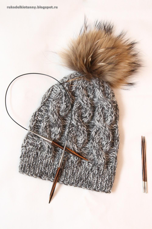 шапочка вязаная