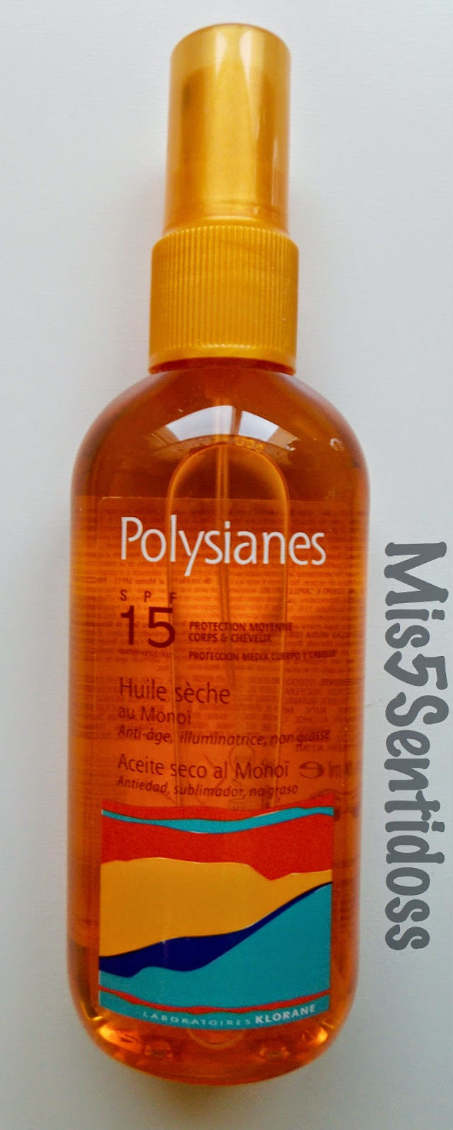 Polysianes Aceite seco