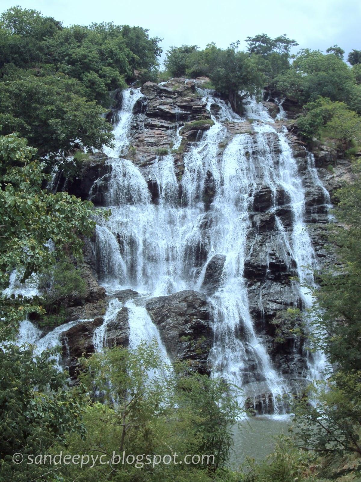 Bharachukki falls part 5