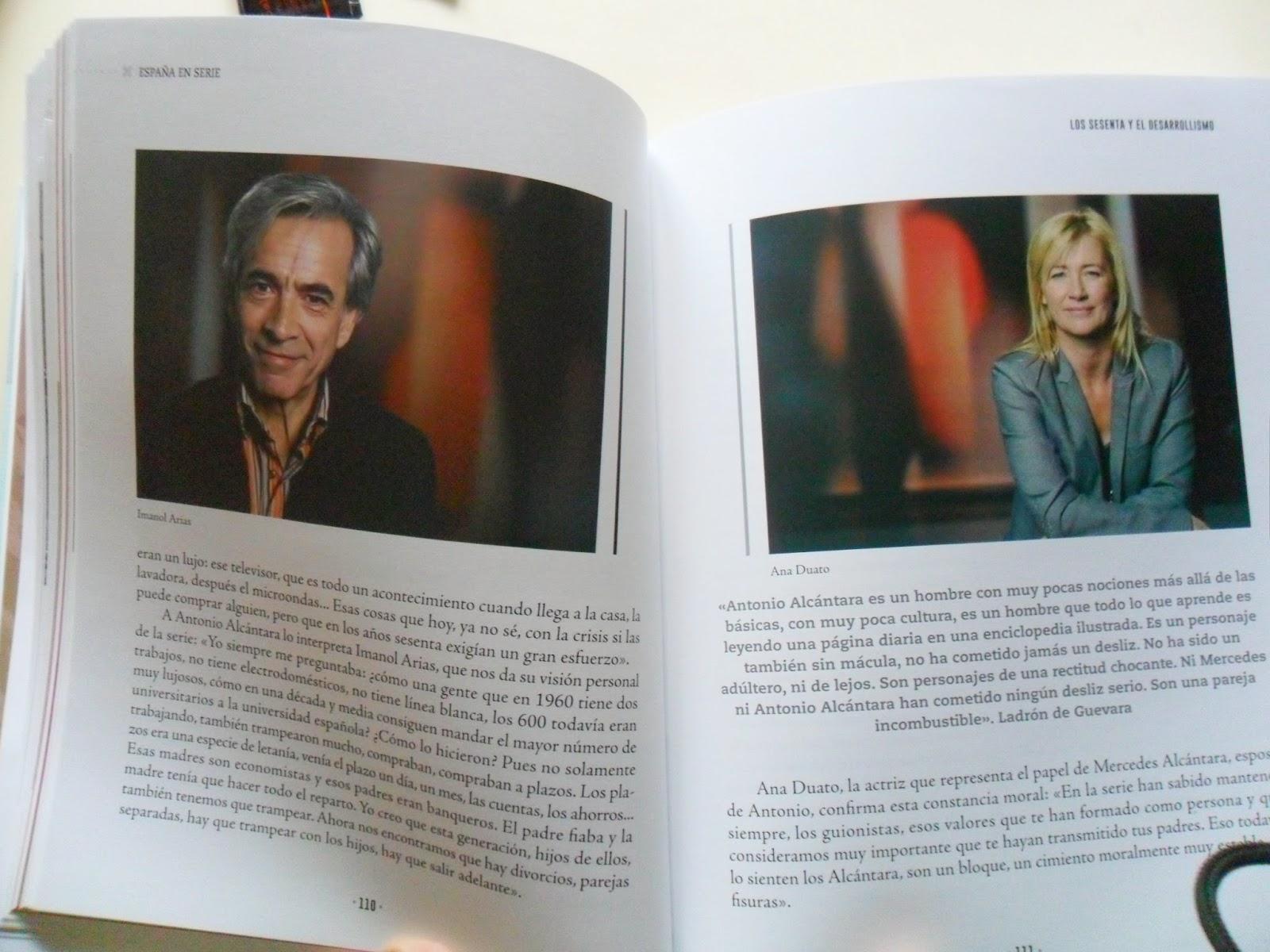 Cuéntame cómo pasó, en el libro de España en serie,Antonio Alcántara, Mercedes Fernández