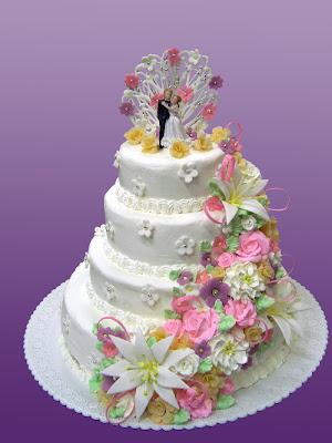 Hermosura de pastel para la gran fiesta