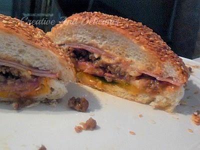 Heart Attack Sandwich ~ everything you love ! #Sandwich #QuickDinner #Lunch
