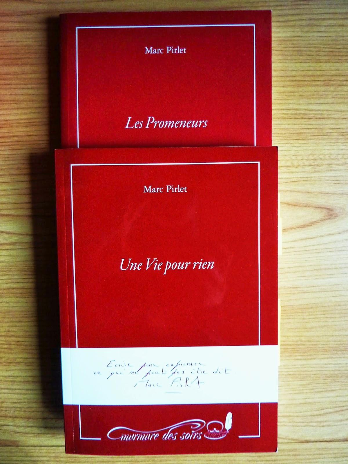 Une vie pour rien - Marc Pirlet