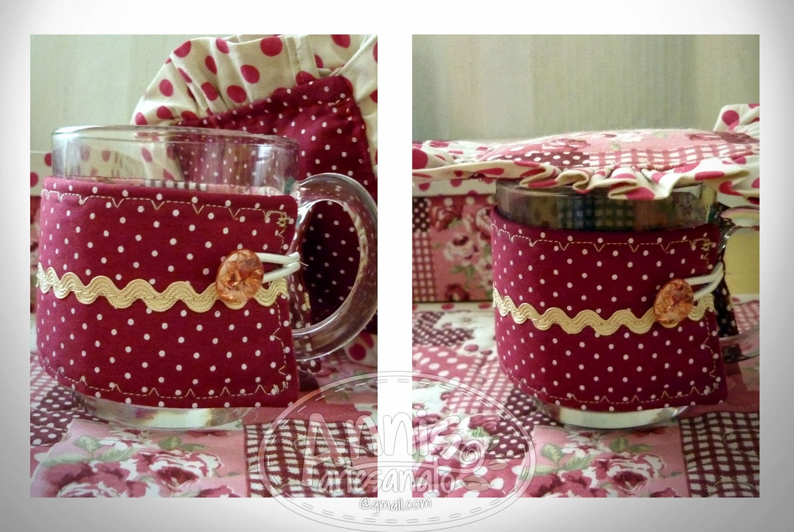 annis artesanato mug dress retrô
