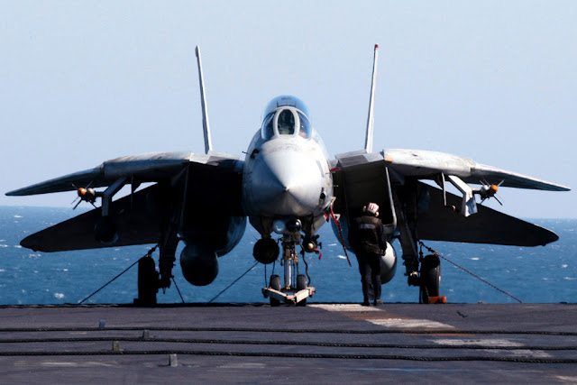 F-14 tomcat wings folding