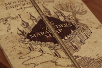 The Marauder's Map from Harry Potter