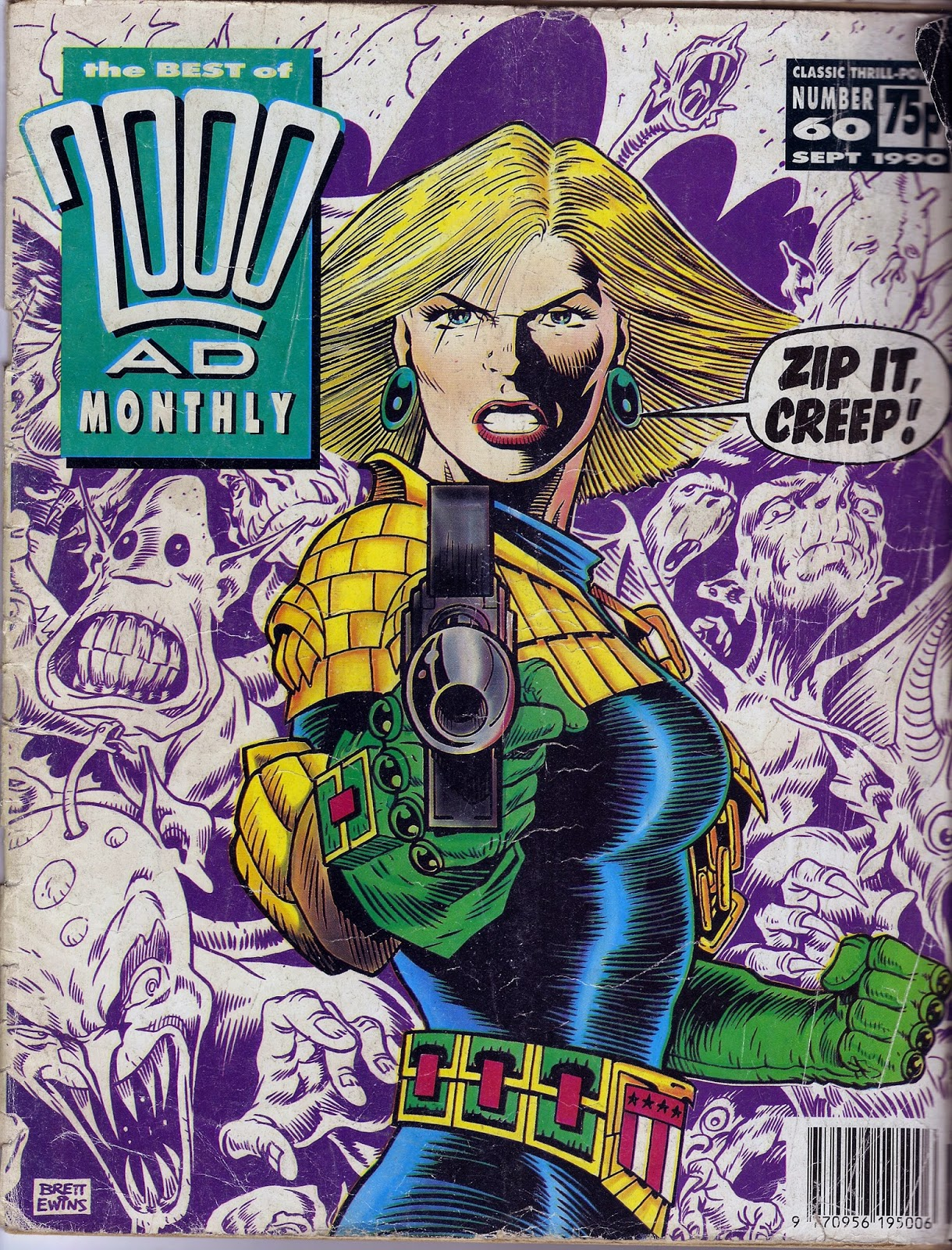 Best of 2000ad Monthly  60