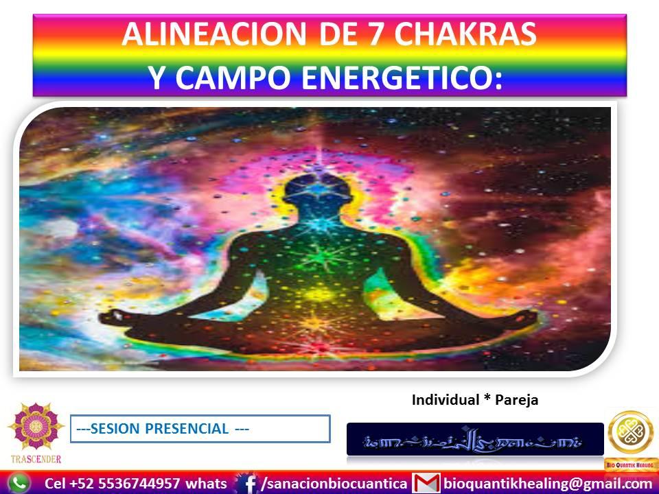ALINEACION 7 CHAKRAS & CAMPO ENERGIA