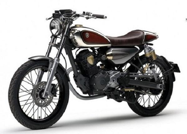 Yamaha Resonator125 : Cafe Racer of the State Sakura