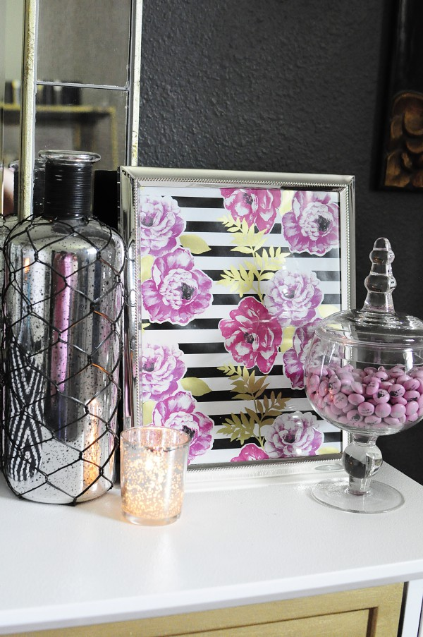 this black white gold home office is filled with diy projects and inspiration that black white home office inspiration
