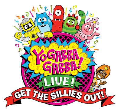 Yo Gabba Gabba Live Tour Logo