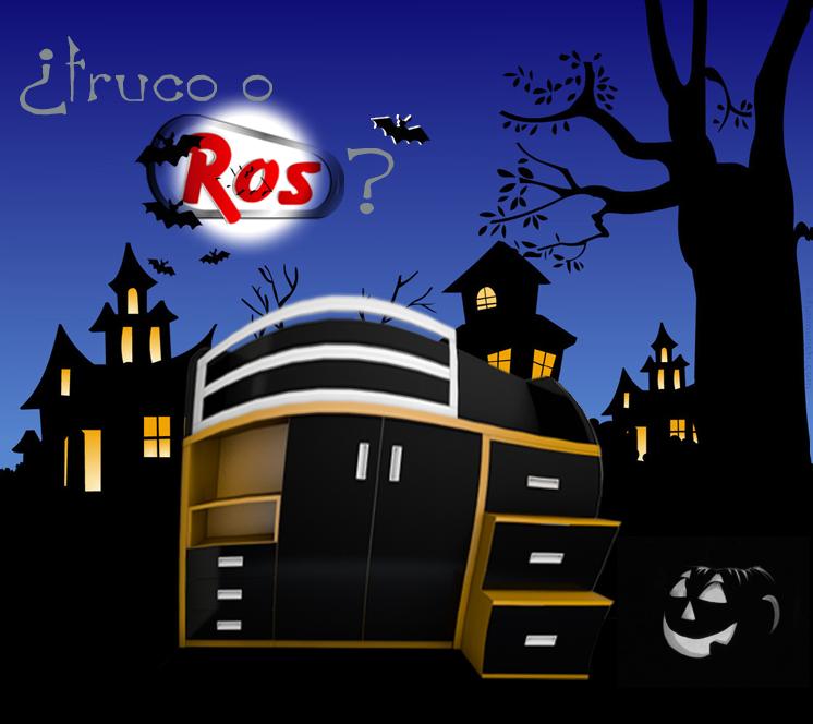 Feliz halloween truco o ros - Kibuc hernandez ...