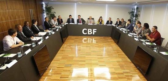 Reunião na CBF contou com a presença de ex-jogadores de diferentes gerações