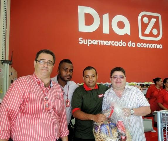 Inauguração do Supermercado Dia% em Iguape