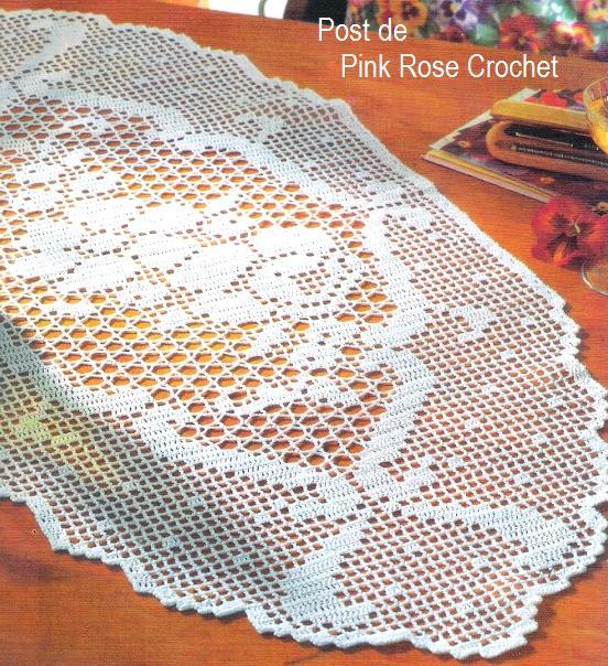 Cantinho feliz da graciele lindas toalhinhas com graficos for Centro de mesa a crochet