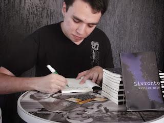 William Melo - Primeiros autógrafos