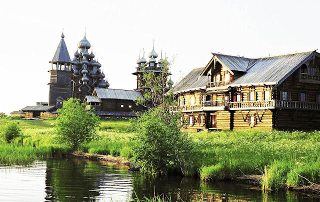 Кижи — шедевр русского зодчества!