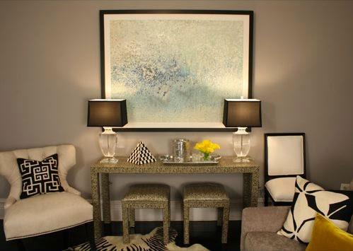 Salas color topo salas con estilo - Color topo pared ...