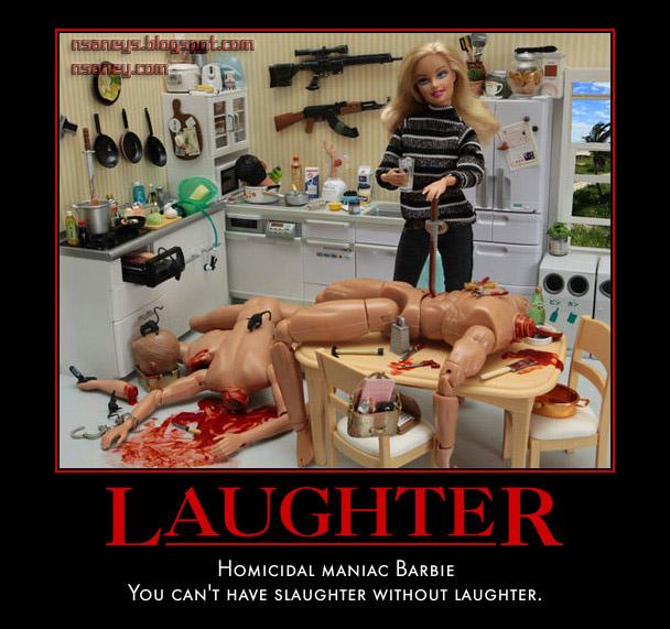 Nsaney S Psychobabble Homicidal Maniac Barbie